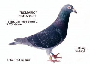 """1e Nationaal Dax """"Romario"""""""
